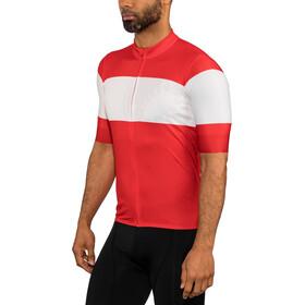 Castelli Ruota Maglietta jersey con zip frontale Uomo, red